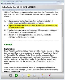 210-065 Practice Test Exam Simulation