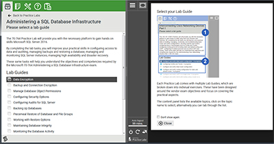 Practice Lab for Microsoft 70-764
