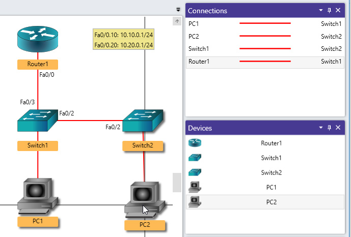 NetSim 12 Network Designer