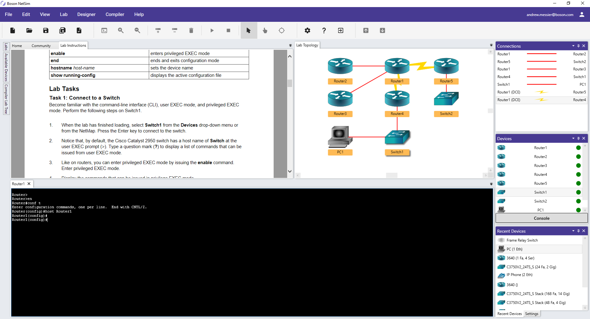 NetSim 12 Network Simulator Lab and Topology view